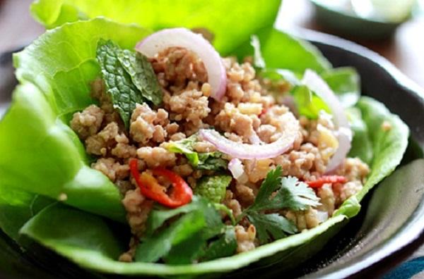 Thai Food Larb Beef