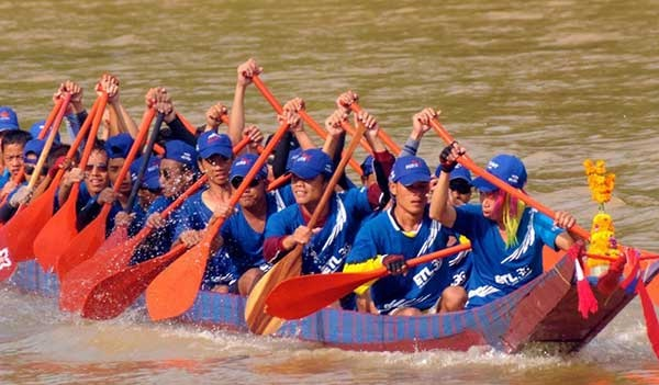 Traditional boat racing festival