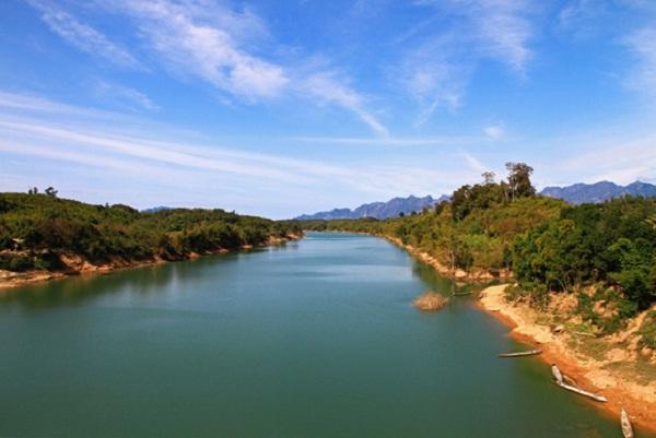 Wonderful scene in Mekong River