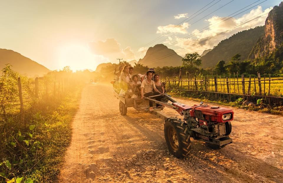 How to get Laos from Sai Gon, Vietnam