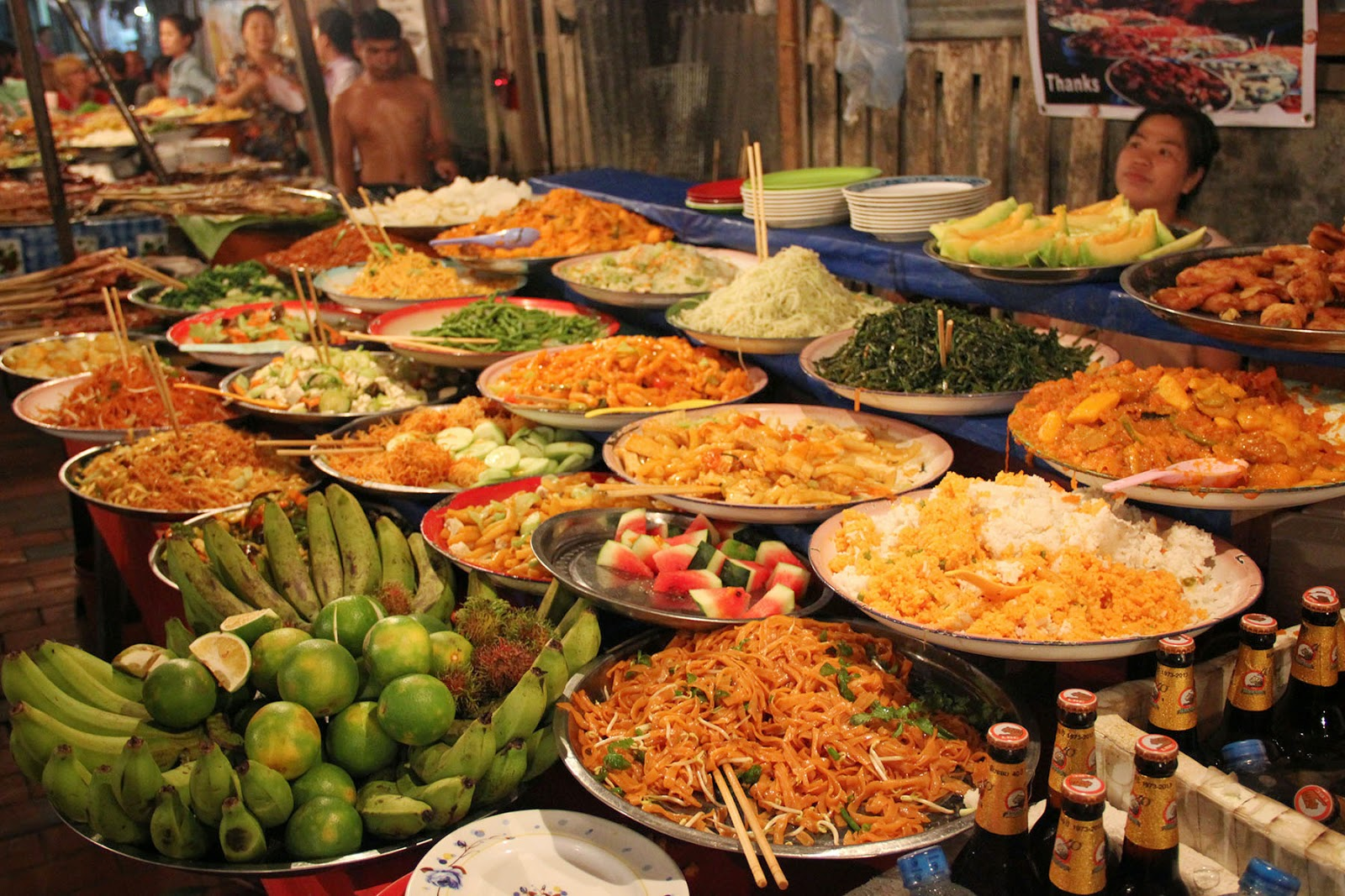 Vegetarian Street Food Bangkok