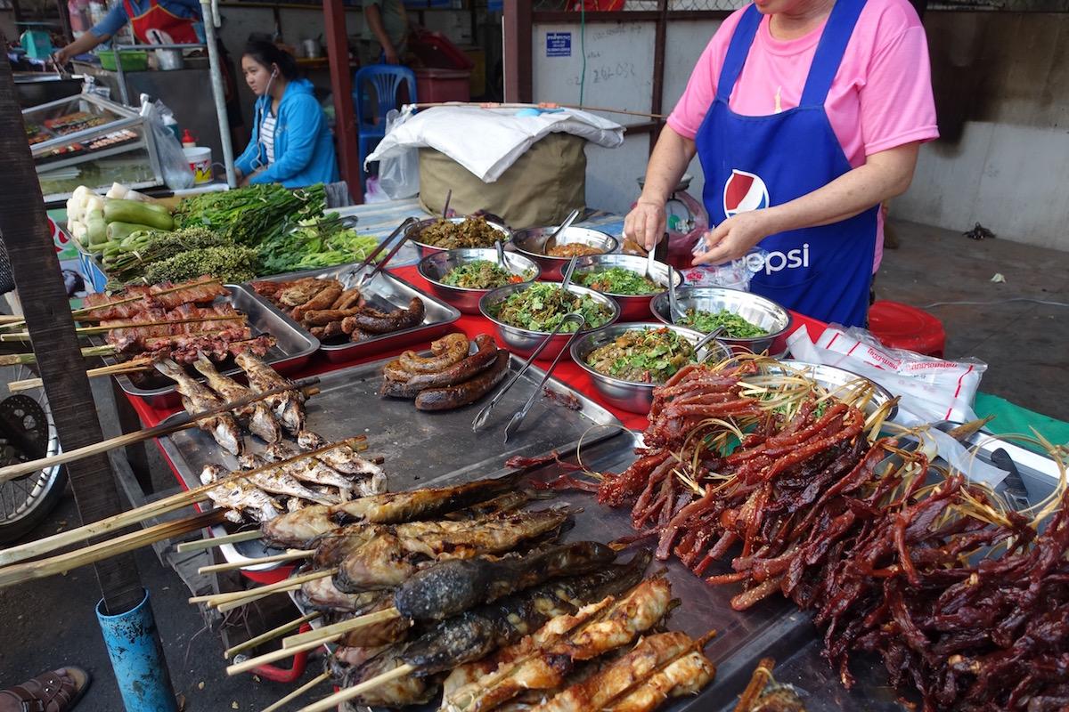 Vientiane Night Food Market