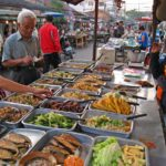 Local food in Vientiane