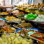 Enjoy a wide range of street food in buffet street Luang Prabang is a great experience
