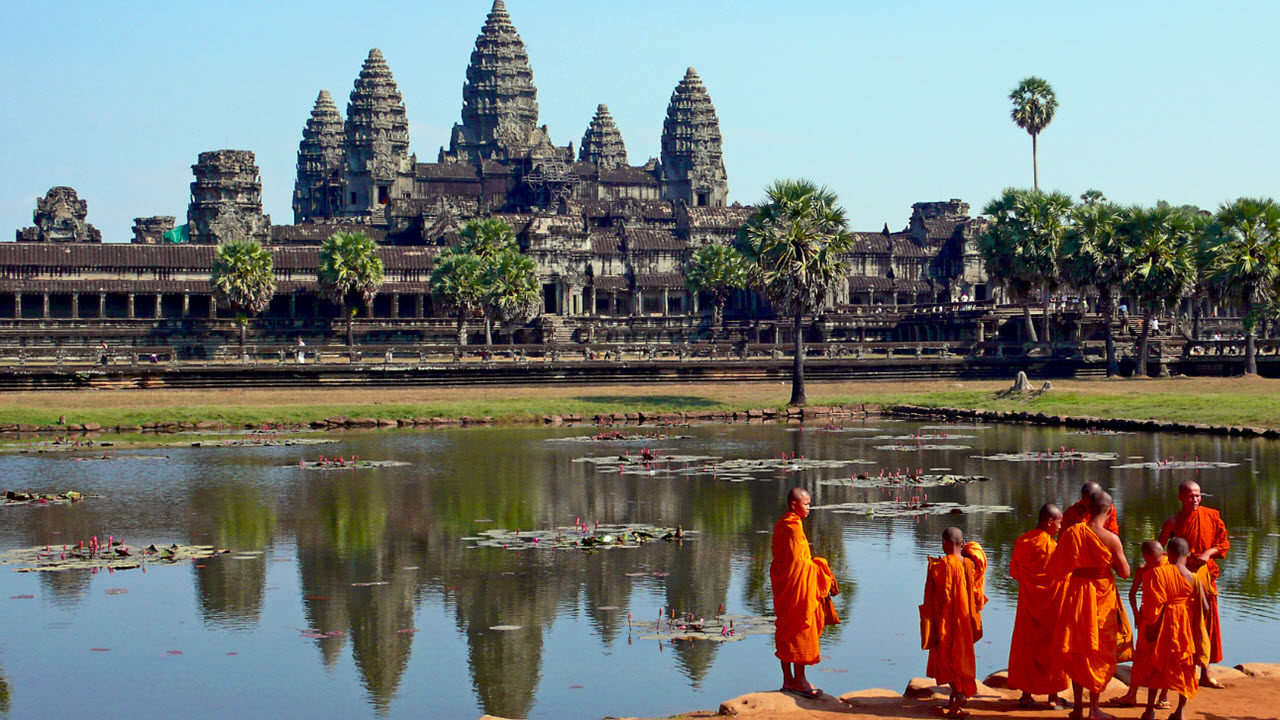 The Angkor Wat – Cambodia's national icon