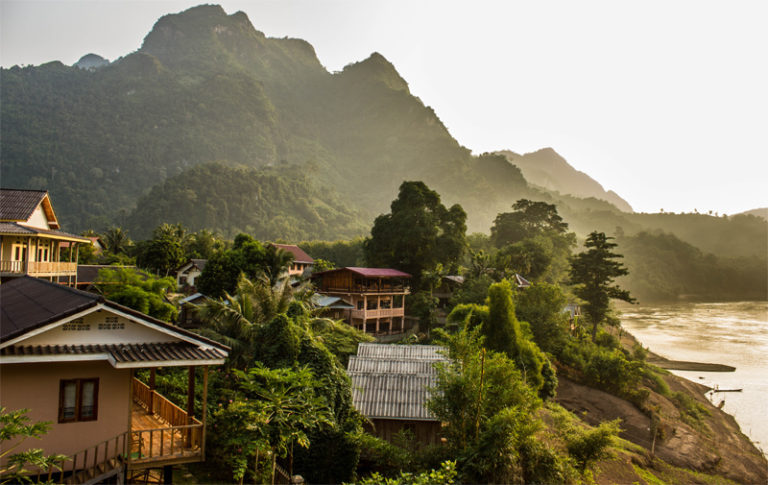 Nong Khiaw – a land saved from the mass tourist trail