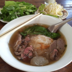 Khao Piak Sen (Sticky Rice Noodles) – a noodle soup unique to Laos