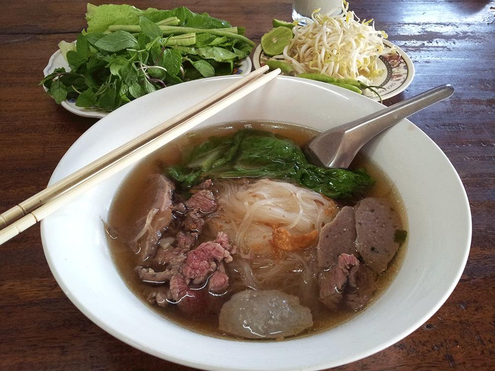 Khao Piak Sen (Sticky Rice Noodles) – a noodle soup unique to Laos