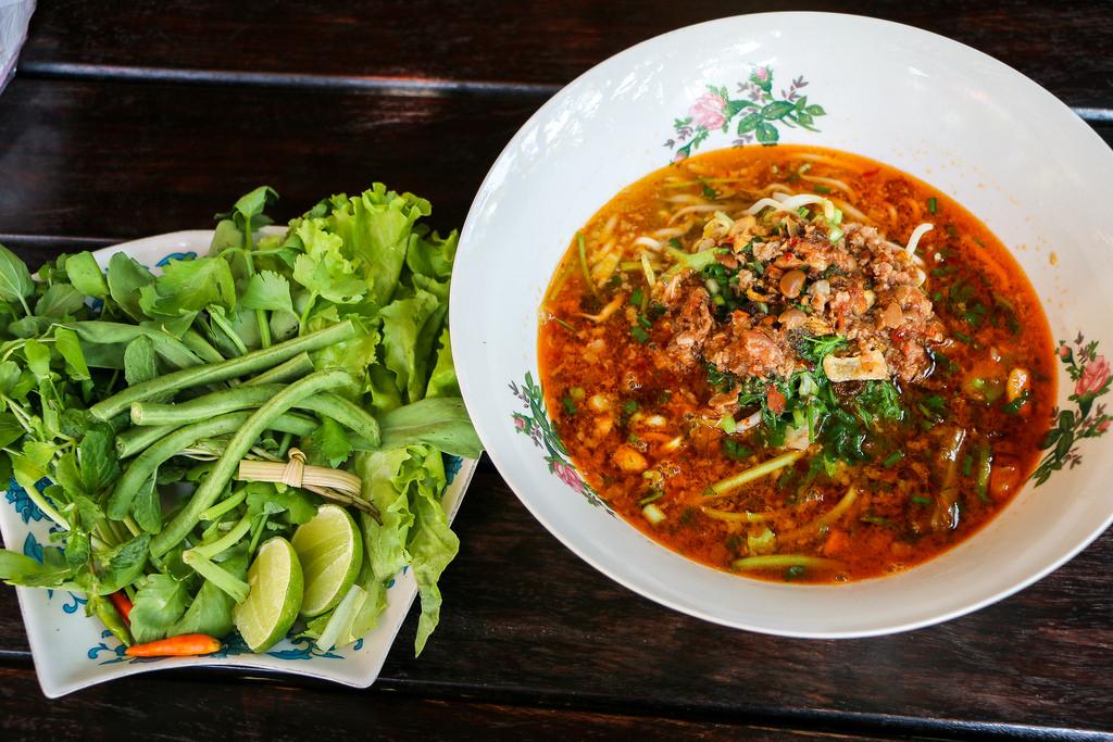 Khao soi - Luang Prabang-style rice noodle