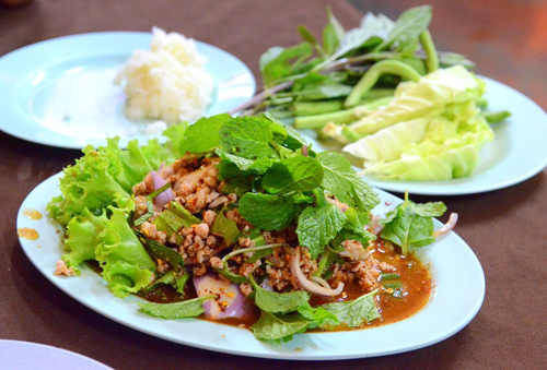 Let's try it when visiting Laos